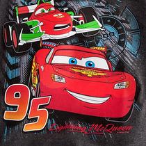 Camisa Manga Comprida Mcqueen Carros - Original Disney Store