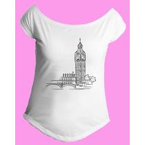 Camiseta Feminina G. Canoa Inglaterra Reino Unido Londres 04