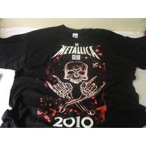 Camiseta The Metallica Club 2010 Gildan Tam. M 2xl