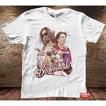 Camiseta Masculina Big Lebowski Cinema Tv Filme Sátira Humor