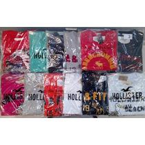 Camisetas Hollister E Abercrombie Pronta Entrega