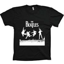 Camisas The Beatles - Frete Fixo - Algodão Fio 30