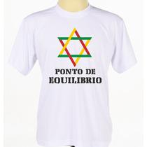 Camisa Camiseta Estampada Banda Reggae Ponto De Equilíbrio