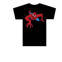 Camiseta Infantil Desenho Homem Aranha