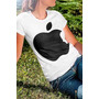 Promoção! Camiseta Feminina Maça Apple Steve Jobs