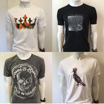 Camiseta Osklen Calvin Klein John John Reserva Ellus Armani