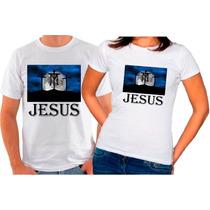 Camiseta Jesus Calvário Religião Católica Cristo Poliester