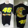 Camiseta The Doctor V 46 - Valentino Rossi #preta Ou #branca