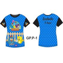 Camisa Camiseta Aniversário Galinha Pintadinha Personalizada