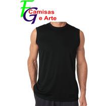 Camiseta Regata Machão Masculina Malha Lisa 100% Algodão