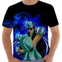 Camiseta Cavaleiros Do Zodíaco - Shiryu - Animes - Mangás