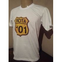 Camiseta Rota 101 Tradicional Ou Babylook