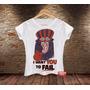 Camiseta Feminina Blusa Dick Vigarista Corrida Maluca Wacky