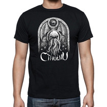Camiseta H. P. Lovecraft - Cthulhu