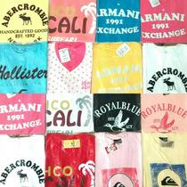 Camisas Brooksfiled, Armani, A&f, Hollister, John John, Quik
