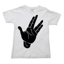 Camiseta Infantil Star Trek Jornada Nas Estrelas B - 2 Ao 16