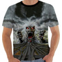 Camiseta Iron Maiden Hollywood Color - Eddie - Modelo 21