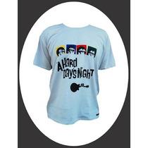 Camiseta Alternativa Rock The Beatles/a Hard Days Night