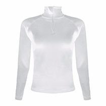 Segunda Pele Branca Feminina Blusa Ultra Go Ahead P/ Inverno