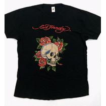 Camiseta Ed Hardy - Masc - Tam G