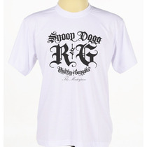 Camiseta Camisa Personalizada Rapper Snoop Dogg Rap Hip Hop
