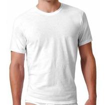 Camiseta Lisa Branca 100% Algodão Fio 30.1 - Atacado-varejo