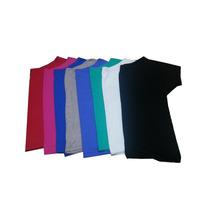 Blusa Ombro Caido Kit C/02 Viscolycra Tamanho P Ao Exg