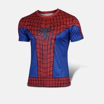 Camiseta Homem Aranha Cosplay Fantasia Spider Man