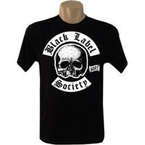 Camiseta Bandas Rock Black Label Society Tradicional