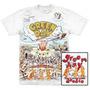 Camiseta Premium Green Day Dookie Stamp