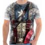 Camisa, Camiseta Vingadores Capitão América Traje