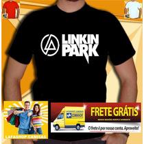 Camisa Linkin Park - Camiseta Guns Roses Ramones Ac Nirvana