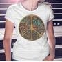 Camiseta Pronta Entrega Feminina Peace And Love