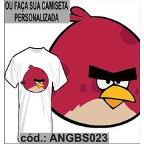 Blusa Camisa Camiseta Personalizada Sublimação Angrybirds 23
