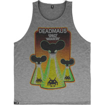 Regata Deadmau5 Camisetas Dj Dubstep Skrillex Psicodélico