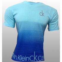 Camisetas Grife Bordadas Calvin Klein Lauren Ótimo Tecido