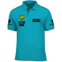 Camisa Polo Fórmula Retrô - March 881 1989 - Gugelmin F1
