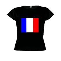 Camiseta Baby Look França