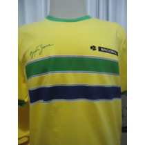 Camisa Ayrton Senna Capacete