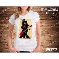 Baby Look Guns N Roses Feminina Bandas Rock Camiseta