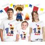 Camiseta Festa Caipira Personalizada Aniversário 3 Uni