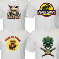 Camisetas Do Power Rangers
