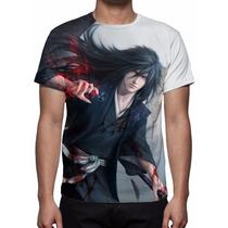 Camisa, Camiseta Anime Naruto Madara Uchiha - Mod 02