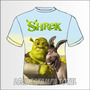 Camiseta Infantil Shrek - Modelo 03 - Camisa