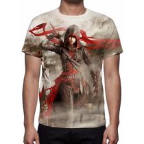Camisa, Camiseta Game Assassins Creed Chronicles China