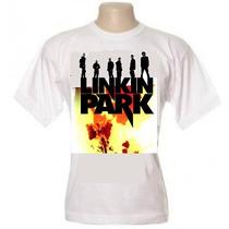 Camisa Linkin Park - Camiseta Nirvana Ramones Beatles Guns