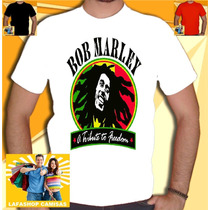 Camisa Bob Marley Camiseta Reggae Jamaica Cannabis Erva