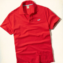 Camisa Camiseta Blusa Polo Hollister Masculina Original 2015