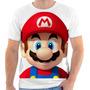 Camiseta Super Mario Bros Estampada, Masculina E Feminina