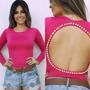 Body Perolas Body Feminino Costa Nua Pronta Entrega!